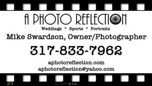 A Photo Reflection - Videography Service - Fortville Indiana  Carmel  Business card