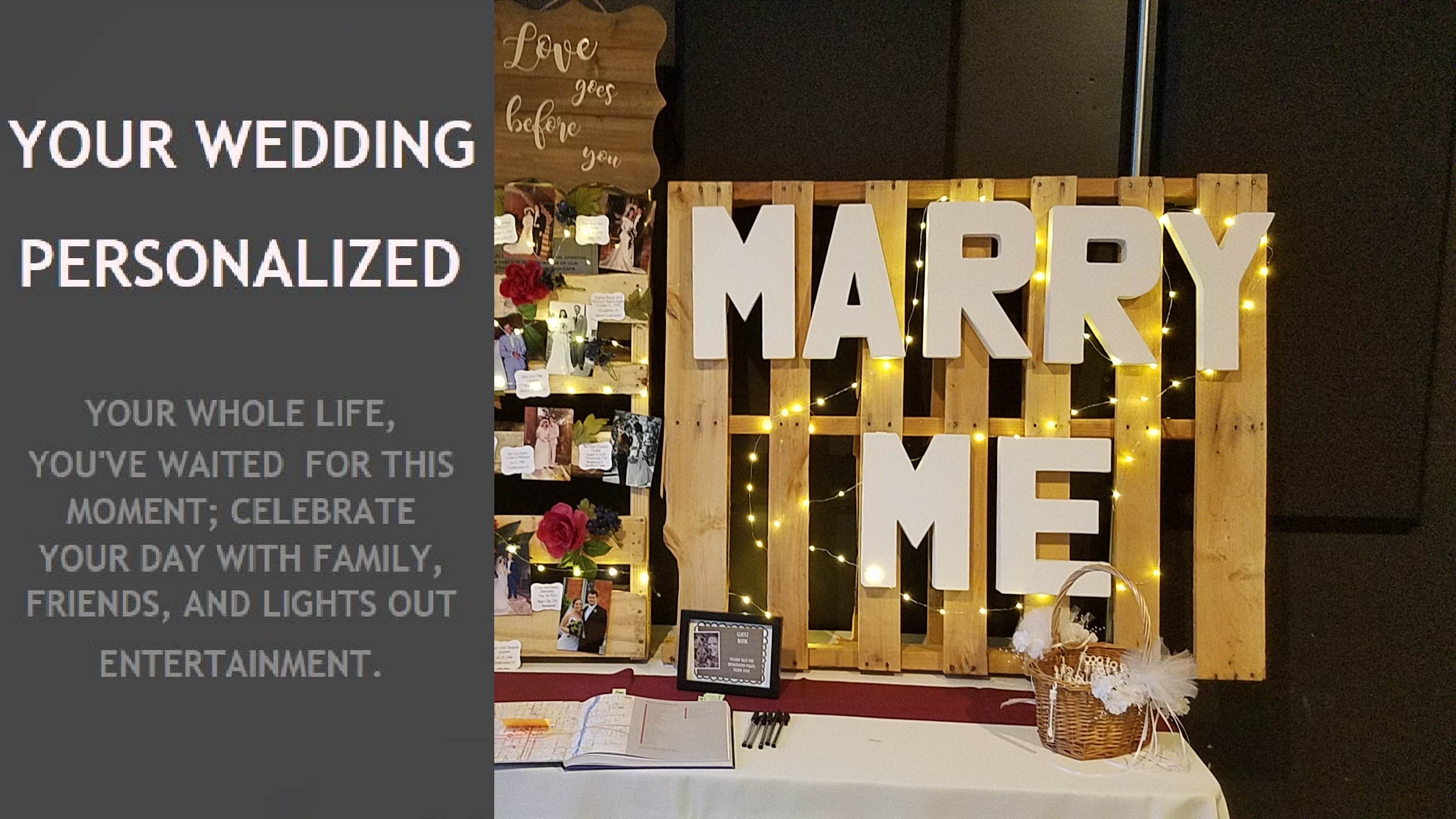 Your Wedding Personalized