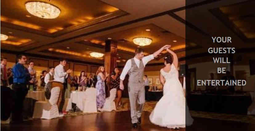 Your Wedding Guests Will Be Entertained with our trained and certified DJs Event Hosts