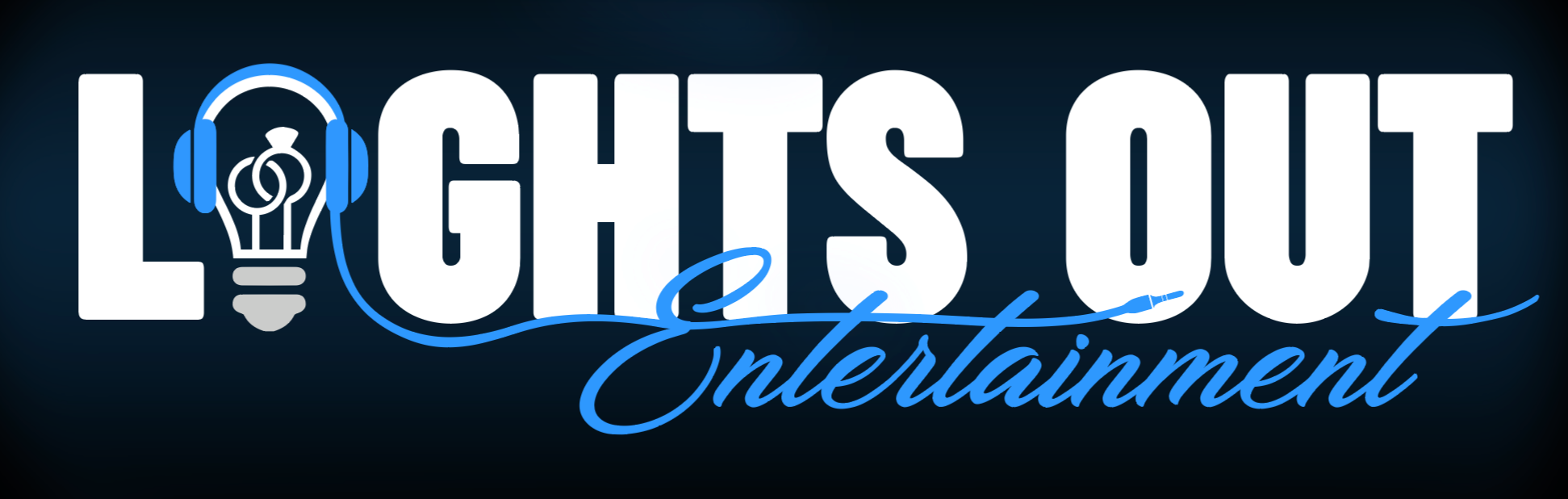 Lights Out Entertainment New Logo 2018 - 2022  Fun rated Wedding DJS