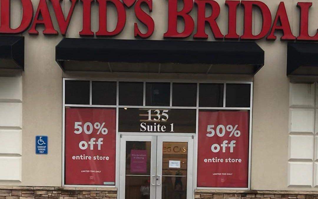 David's Bridal Files Bankruptcy