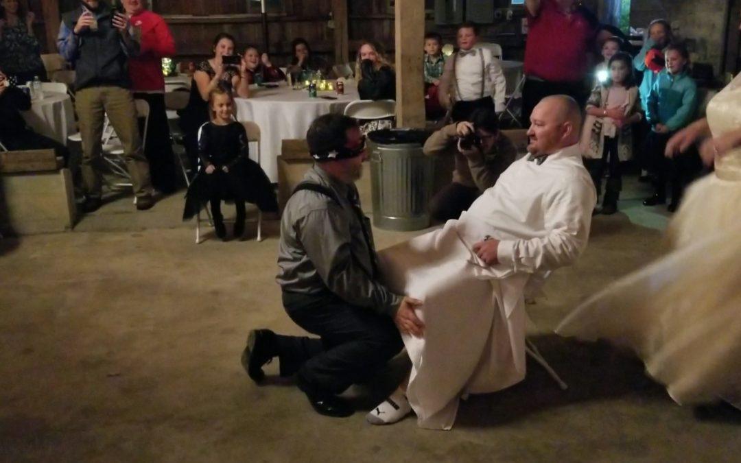 Fun Idea For Garter Removal – Bride Pranks Husband